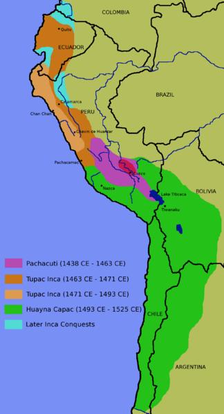 território inca