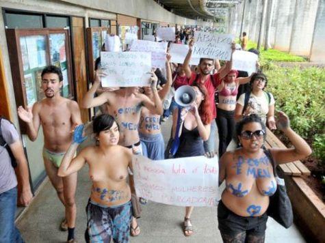 protesto da unb