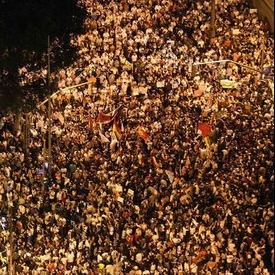 número de manifestantes