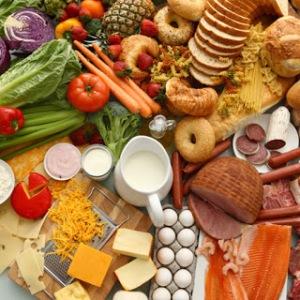 pronuncia escrita dos alimentos