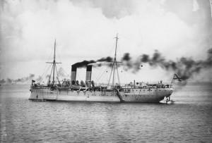 Navio de Bombas