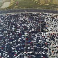 colapso no trânsito