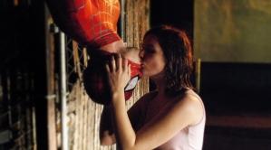 o beijo do homem-aranha